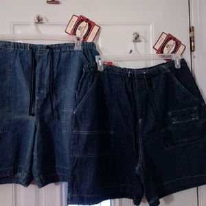 Two new pair of jean shorts